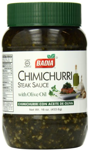 Badia Chimichurri Sauce, 16 Ounce (Pack of 12) (Sauce Badia)