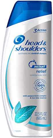 Head and Shoulders Instant Relief Anti-Dandruff Shampoo 22.5 Fl Oz (Packaging may vary)