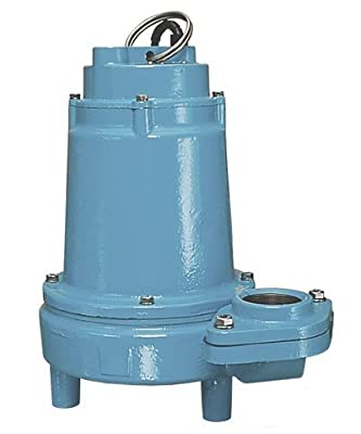 "2"" 1/2 HP ""Eliminator"" Submersible High Head Effluent Pump Volts / Cord Length: 115 Volts / 20' Cord / UL/CSA Certified"