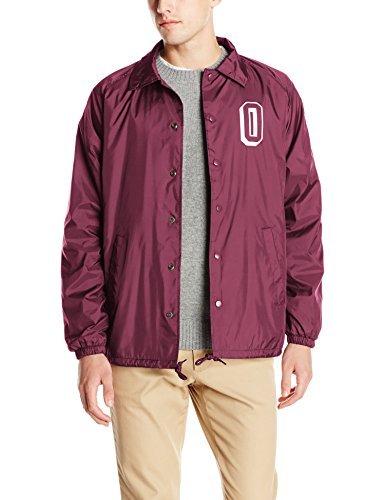 Amazon.com: Obey de los hombres Varsity – Chaqueta: Clothing