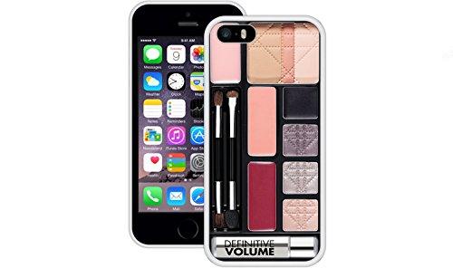 Make up Paletten | Handgefertigt | iPhone 5 5s SE | Weiß TPU Hülle