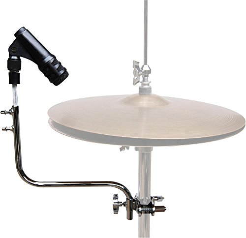 Drum Microphone Clamp - Mic Holders Big Bang Distribution Hi-Hat Mic Mount