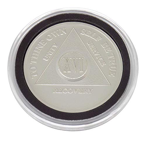 16 Year - Special AA Coins - .999 Silver AA Medallion   Recovery Shop (Silver 0.5 Ounce Coin)