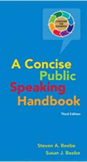 a concise public speaking handbook 4th edition free