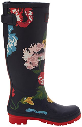 Blue Posy Ajusta Joules Navy Botas Agua de Mujer French UxaTwX