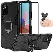 MeiYueEr Funda para XiaoMi RedMi Note 10 4G/Note 10S - Híbrida Rugged Armor Choque Absorción Protección Carcas