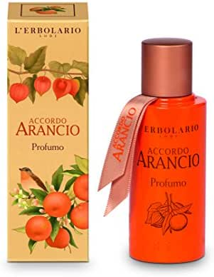 Natural Perfume Accordo Arancio - Orange Perfume by L'Erbolario 50ml