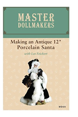 """MD09: Making an Antique 12"""" Porcelain Santa for sale  Delivered anywhere in USA"""