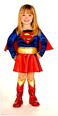 Super Dc Heroes Supergirl Toddler Costume Size 2-4 by Rubies