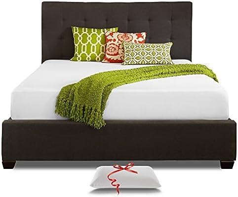 meet f4f38 3388d Live and Sleep Queen Mattress - Memory Foam Mattress - 10 Inch Cool Bed in  a Box - Medium Firm - Includes Premium Foam Pillow - CertiPur US Certified  ...