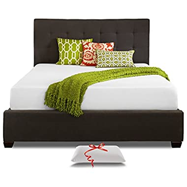Resort Sleep California King 10-Inch Cooling Memory Foam Mattress and Pillow
