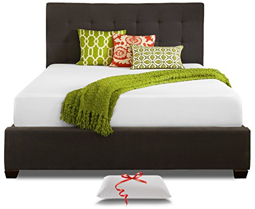 Live and Sleep Resort Classic Full / Double Size 10 Inch Cooling Medium-Firm Memory Foam Mattress and Pillow, CertiPUR Certified (Luxury Furniture Bedroom Discount)