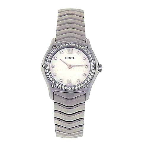 Ebel Classic Wave Watch (Ebel Classic Wave analog-quartz womens Watch E9090F24 (Certified Pre-owned))