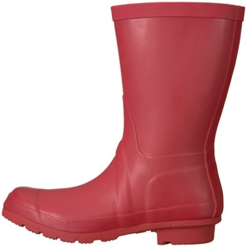 206 Collective Women's Linden Mid Rain Boot Burgundy