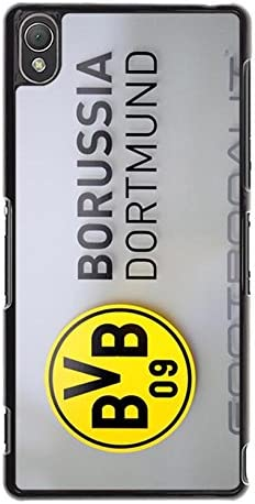 Simple Stylish Borussia Dortmund Bvb Logo Phone Case For Sony Xperia Z3 Bundesliga Official Football Team Borussia Dortmund Cell Phone Case Amazon Co Uk Electronics