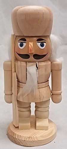 Unfinished Chubby 7 inch Nutcracker
