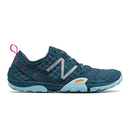 New Balance Women's WT10v1 Minimus Trail Running Shoe, Grey/Blue, 6.5 B US (New Barefoot Shoes Balance)