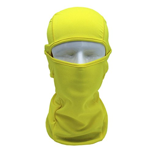 - Chartsea Tactical Motorcycle Cycling Hunting Outdoor Ski Full Face Mask Helmet (Yellow)