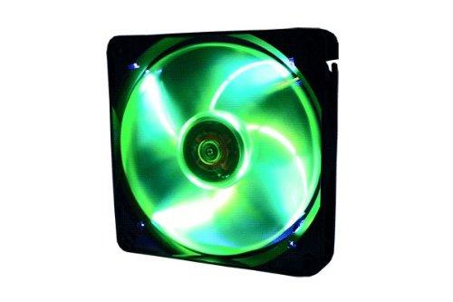 Gelid Solutions Wing 12 PL 120mm PWM Fan Green LED (Gelid Wing 12 120mm Pwm Blue Led Fan)