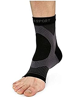 3dbe26f31 Azani Plantar Compression Sleeves (1 pair). Best Plantar Fasciitis Pain  Relief Socks.