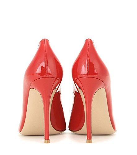 tacco Red Scarpe Donna donna Tacchi Alto Sexy Decolte High Spillo Heels col a Tacco EDEFS 6ExwBx