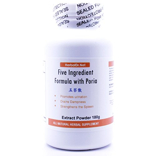 Five Ingredient Formula with Poria Extract Powder Tea 180g (Wu Ling San) Ready-To-Drink 100% Natural Herbs (Best Cure For Prostatitis)