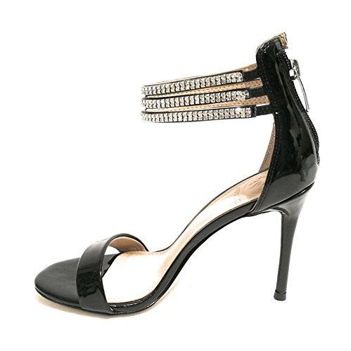 Arriere Footwear Bride Noir Sandal Dress Guess Escarpins Femme wXTdgnq