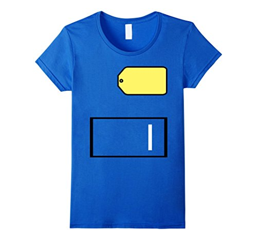 Womens Game Show Group Halloween Costume T-Shirt Small Royal (Diy Halloween Costumes To Wear To Work)
