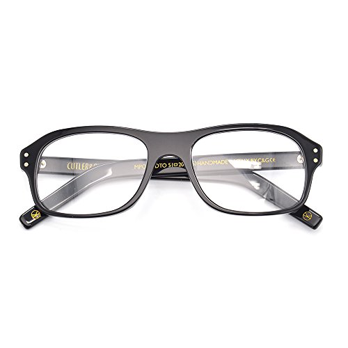 Kingsman glasses for man the same as movie with quality acetate eyeglasses - Kingsman The Glasses