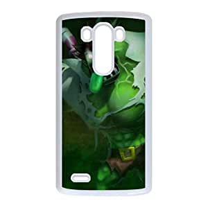LG G3 Cell Phone Case White League of Legends Toxic Dr. Mundo VB6009037
