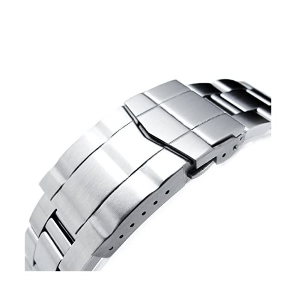 22mm-Super-Oyster-watch-band-for-SEIKO-Diver-SKX007009011-Solid-Submariner-Clasp