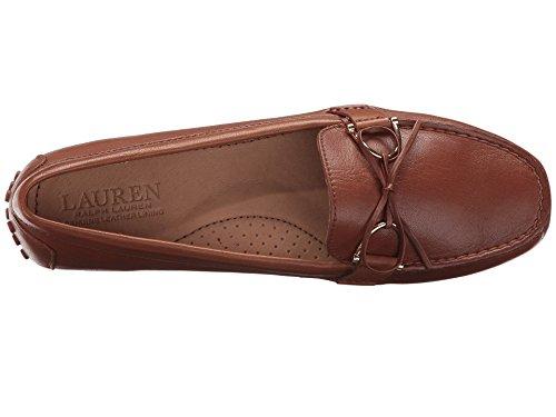 Super Womens Leather Tan Lauren fl Soft Ralph Briley Saddle Deep 0UqRZ