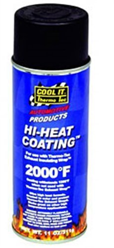 Thermo-Tec 12001 Black High Heat Coating 11 (Thermo Tec Exhaust Insulating Wrap)