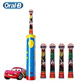Children Electric Toothbrush Cars Tooth Brush D10 Replaceable Brush Heads EB10 Music Timer for Children Ages 3+