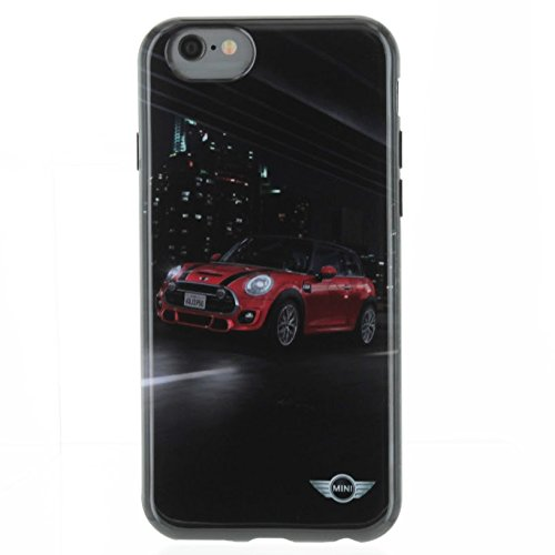 wholesale dealer 16f8b c5a1f Mini Cooper Hard Case for iPhone 6/6s - Retail Packaging - Street Cars Red