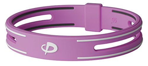 Price comparison product image Phiten S-PRO Titanium Bracelet, Pink, 6.25-Inch