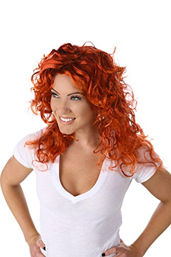 Princess Paradise Women's Forest Princess Wig Deluxe Costume, red, One -