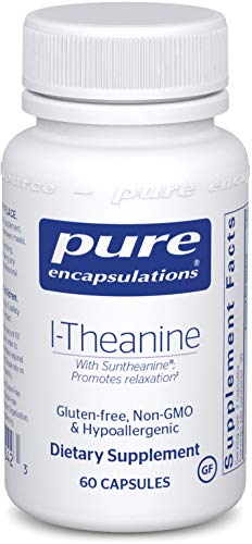 Pure Encapsulations - l-Theanine - Hypoallergenic Supplement Promotes Relaxation and Helps Moderate Occasional Stress* - 60 Capsules