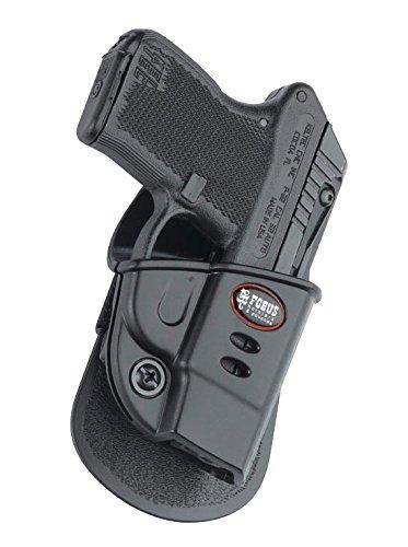 Fobus verdeckte Trage Sicherungs-Pistolenhalfter Halfter Holster + 6922 Doppel magazintasche für Kel-Tec P32, P3AT, Ruger LCP w. Crimson Trace