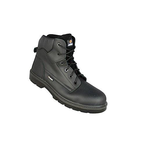 Chaussures de sécurité JALGERAINT SAS cuir noir - JMJ06 - 42