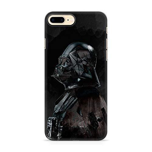 Ert Group SWPCVAD724 Star Wars Cubierta del Teléfono Móvil, Darth Vader 003, iPhone 7 Plus/ 8 Plus