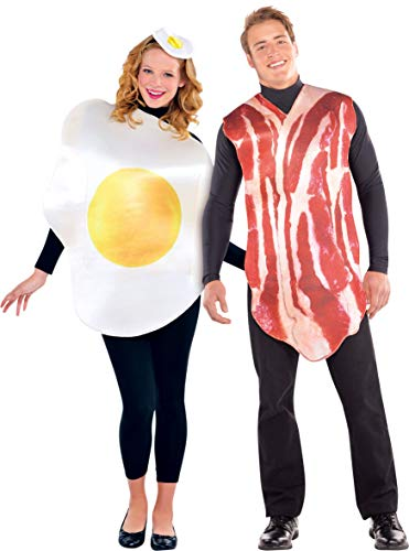 (Adult Bacon & Egg Costume)