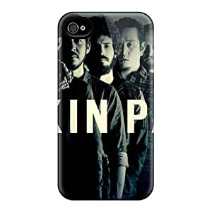 TimeaJoyce Iphone 4/4s Shock Absorption Hard Cell-phone Cases Unique Design HD Linkin Park Pattern [btn16514ShSv]