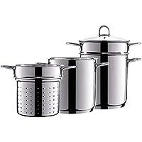 Style'n Cook Casserole en acier inoxydable 18/10avec légumes pâtes utilisation