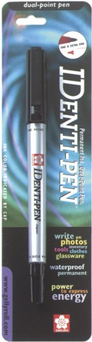 Sakura Metal Pen (Sakura 44181 Identi-Pen Blister Card Permanent Marker, Black)