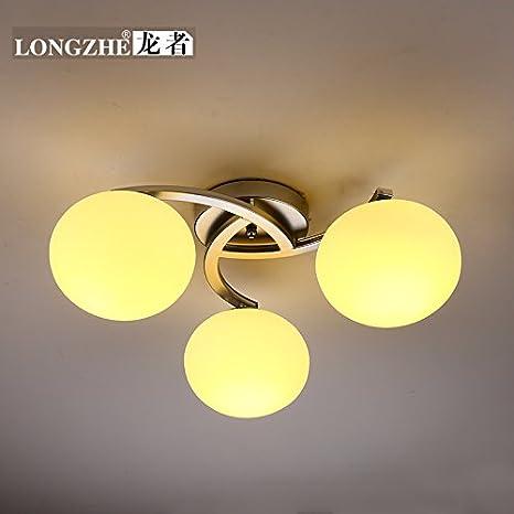 XMZ Sombra de luz techo Vintage Retro Iluminación de techo Lámpara ...