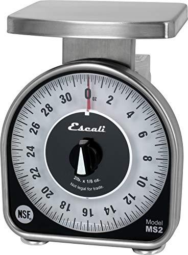 San Jamar SCMDL50 Mechnical Dial Food/Kitchen Scale, 50 lb Capacity (Scale Pound 50 Kitchen)