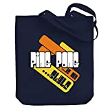 Teeburon Ping Pong is my style Canvas Tote Bag