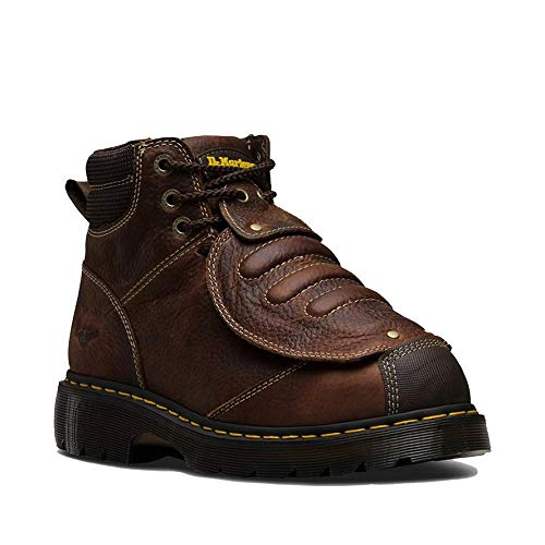 Dr. Martens - Men's Ironbridge Met Guard Heavy Industry Boots, Teak, 10 M US