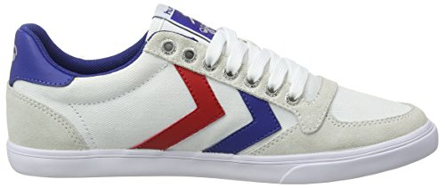 Adulto Wei Zapatillas Gum Low Red 9228 Hummel White Blue Blanco Slimmer Unisex Stadil FWTqng1wp
